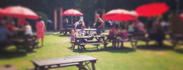 Drayton Court Hotel is one of London's Best Beer Gardens.