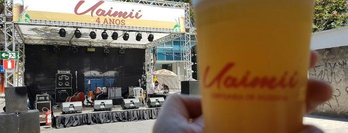 Uaimii Brew Pub is one of Top 10 favorites places in Belo Horizonte, Brasil.