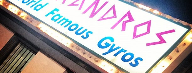 Alexandro's World Famous Gyros is one of All-time favorites in Canada.
