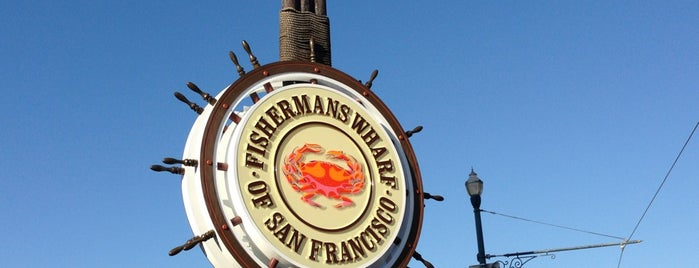 Fisherman's Wharf is one of San Francisco - May 2017.