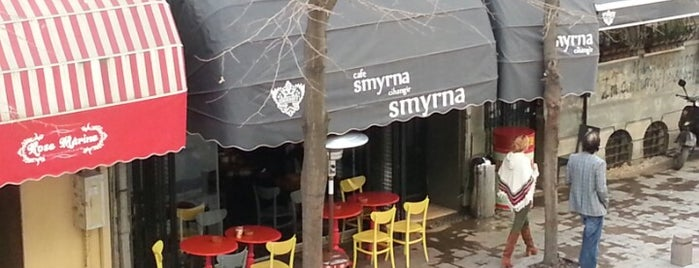 Cafe Smyrna is one of Alternatif Kafeler İstanbul.