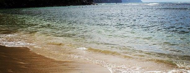 Ke'e Beach is one of Kauai.