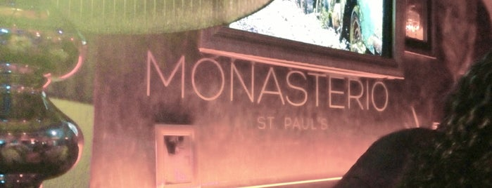 Monasterio St. Paul's is one of COCKTAIL BAR.