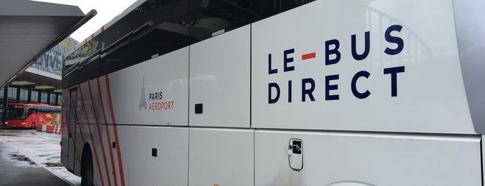 Le Bus Direct - Paris Aéroport is one of Транспорт.