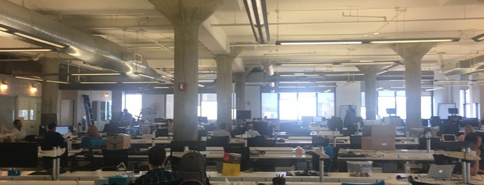 Sailthru HQ is one of Startups & Spaces NYC + CA.