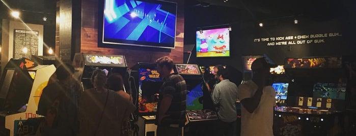 16-Bit Bar+Arcade is one of Cincinnati.
