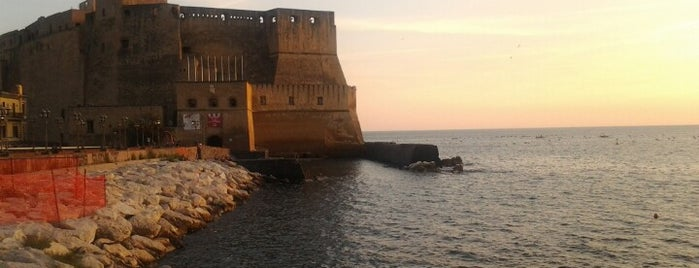 Castel dell'Ovo is one of Napoli.