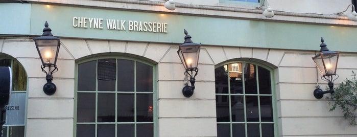 Cheyne Walk Brasserie is one of London Munchies Vol.2.