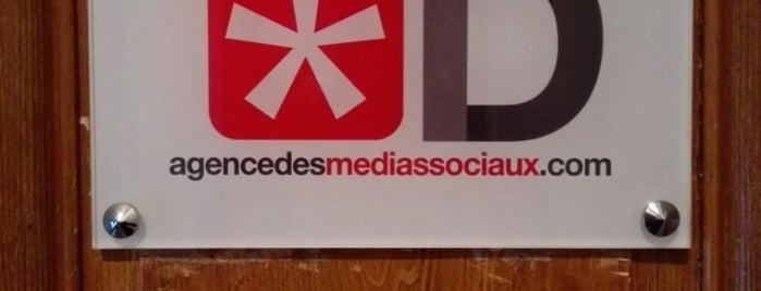 ID - agencedesmediassociaux.com is one of Bureaux à Paris.
