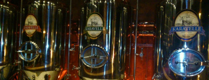 Karavelle - Brewpub is one of Best Bars in Sao Paulo.