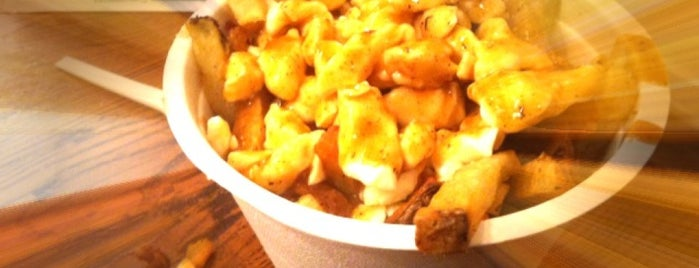 Poutini's House of Poutine is one of Toronto Eats.