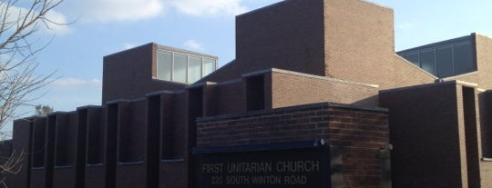 First Unitarian Church is one of Sacred Sites in Upstate NY.