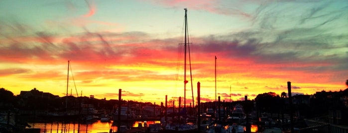 Isle of Palms Marina is one of Charleston, SC.