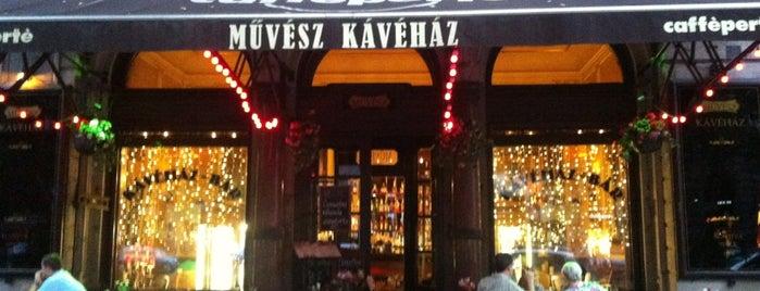 Művész Kávéház is one of Coffee.
