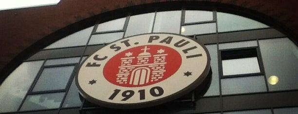 St. Pauli is one of Hamburg 2017.