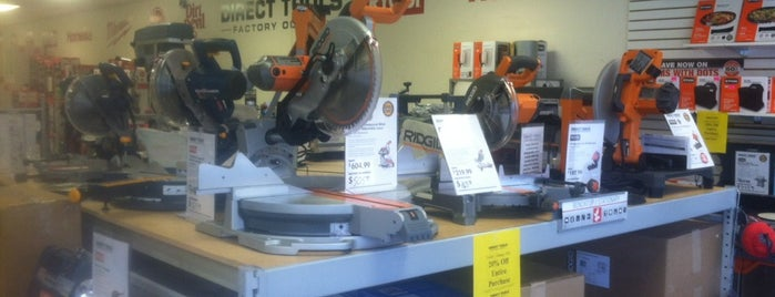 Direct Tools Factory Outlet is one of Fixer Upper Badge - Cincinnati Venues.