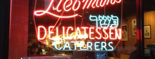 Liebman's Kosher Deli is one of pastrami.