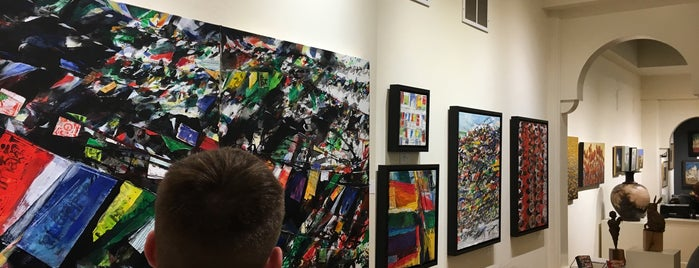 The Red Raven Art Co. is one of First Friday in Lancaster.