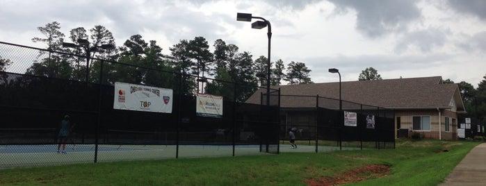 JJ Biello Park - Cherokee Tennis Center is one of The Regulars.