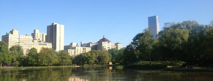 Harlem Meer is one of Tourist attractions NYC.