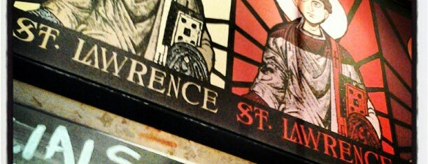 Saint Lawrence is one of New Orleans.
