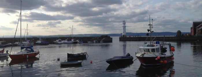 Newhaven Harbour is one of Edinburgh.