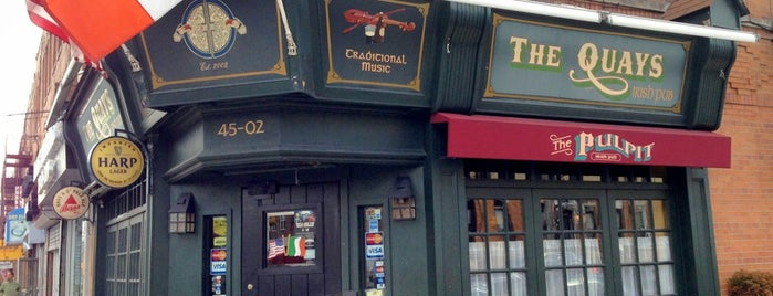 The Quays Pub is one of Open Mics NYC.