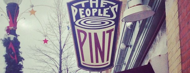 The People's Pint is one of Massachusetts Craft Brewers Passport.