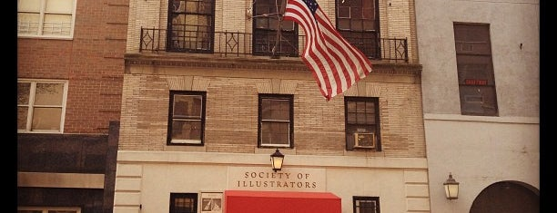 Society of Illustrators is one of Unusual Museums in Manhattan.