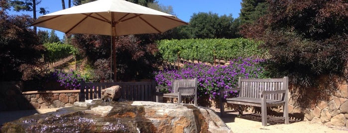 Merry Edwards Winery is one of Beyond the Peninsula.
