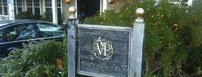 The Village Pub is one of San Jose.