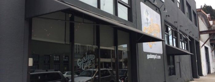 Gaslamp Cafe is one of San Francisco Caffeine Crawl.