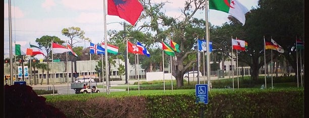 Lynn University Schmidt College Center is one of Lynn Campus.