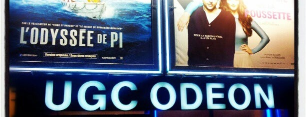 UGC Odéon is one of Orange Cinéday.