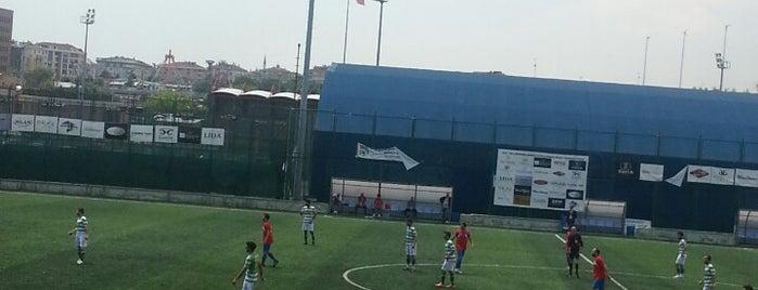 Bakırköy Belediye Stadı is one of İstanbul Stadyum ve Futbol Sahaları.