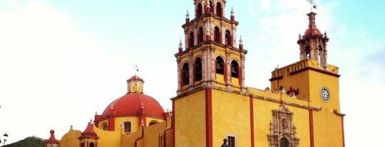 Basílica Colegiata de Nuestra Señora de Guanajuato is one of Guanajuato.