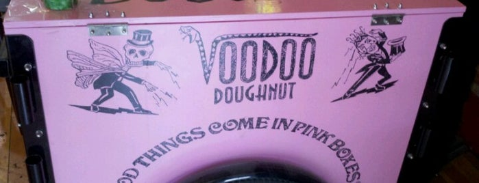 Voodoo Doughnut Tres is one of Been There, Ate It.