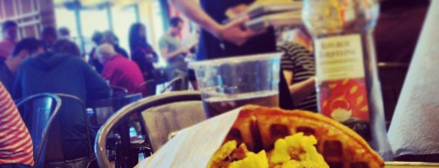 Waffle Champion is one of Places to try.