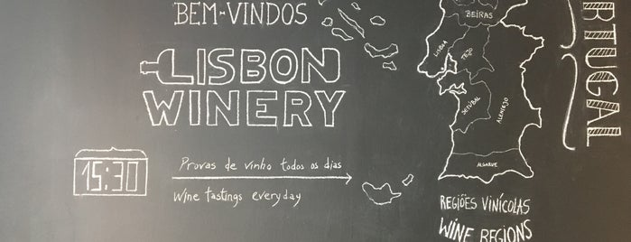 Lisbon Winery is one of Tapas / Petiscos.