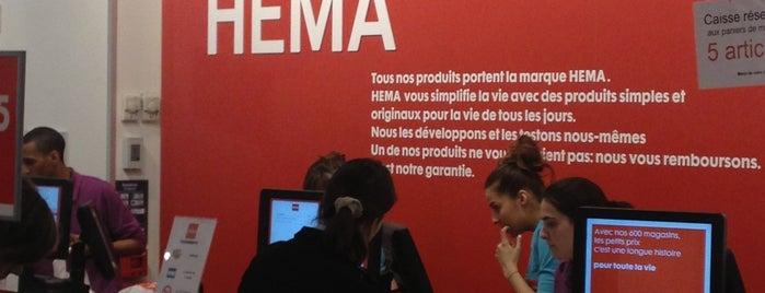 HEMA is one of Paris.