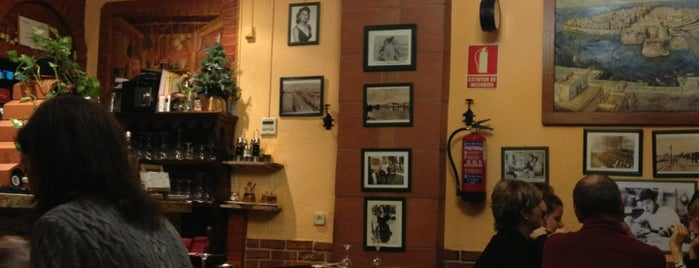 Trattoria Due Amici is one of lugares madrid.