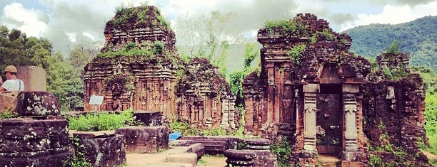 Mỹ Sơn is one of UNESCO World Heritage Sites (Asia).