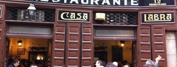 Casa Labra is one of Madrid: de Tapas, Tabernas y +.