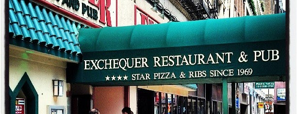 Exchequer Restaurant & Pub is one of Pinpointed locations.
