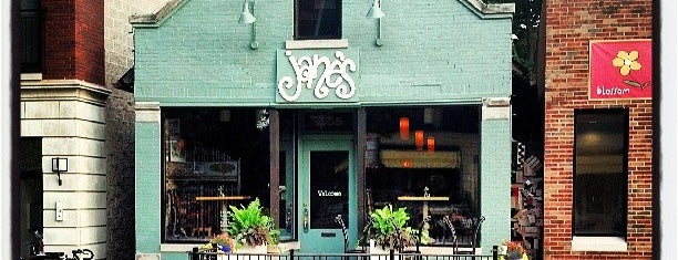 Jane's is one of Chicago Vegetarian!.