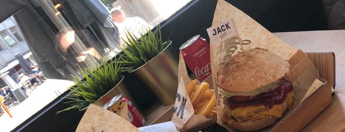 JACK Premium Burgers is one of Brussels & Belgium.