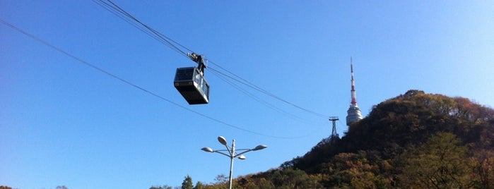 Namsan Cable Car is one of 주변장소5.