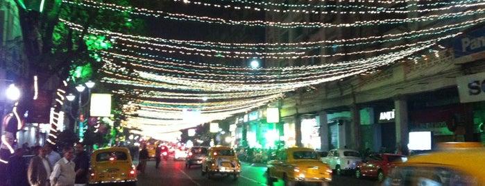 Park Street is one of Kolkata.