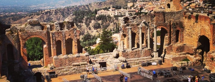 Teatro Greco is one of South Italy.