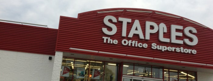 Staples is one of All-time favorites in United States.